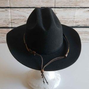 c78c869946920 Baileys Accessories - Bailey Hopper Cattleman Poet Hat 100% Wool Felt